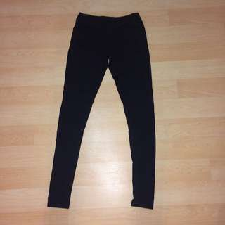 Black Leggings Size 2