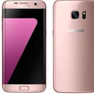 Samsung galaxy s7 Edge Rose Gold 32gb