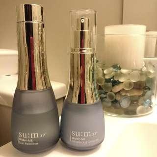 Set of Su:m37 Water-full Lotion + Refresher (Toner) + FREE Korean Skincare Samples From Various Brands