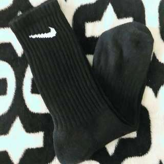 Legit Nike Crew Socks (Double Sided Swoosh)