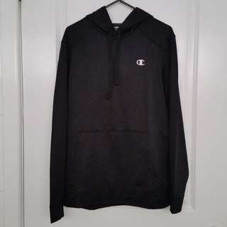 Champion black powertrain fleece hoodie