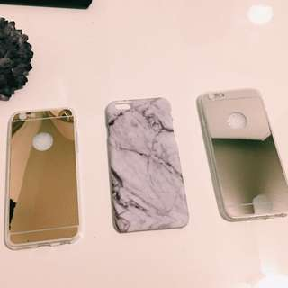 mirror & marble iphone 6 cases