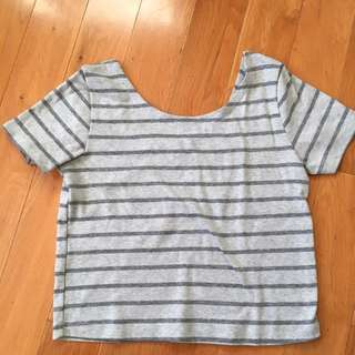 Glamorous Crop Top Size Small