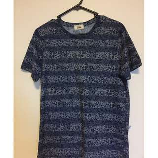 Seed Dark Blue T Shirt with print