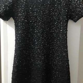 Party: Black Sequence Dress