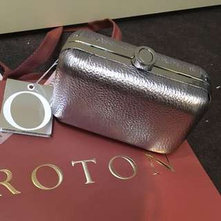 Brand New Authentic Oroton Clutch - With Tags Dust Bag Etc