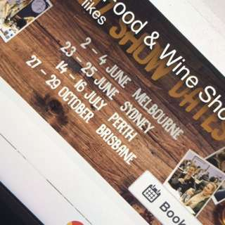 Tickets For The Good Food And Wine Expo