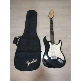 Fender Guitar + Amp