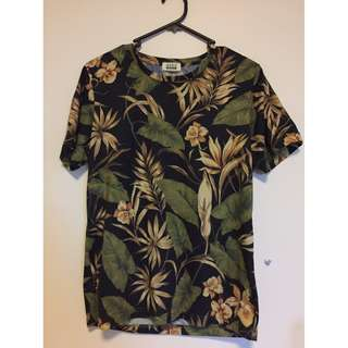 Seed Floral Shirt Size S