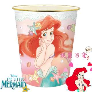 【妮醬日貨】迪士尼 小美人魚 愛麗兒 垃圾桶 垃圾筒 玩具收納筒 雨傘桶 058044