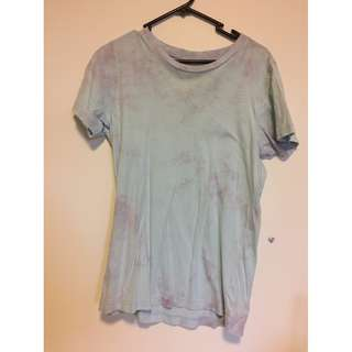 Acid washed Size S T-shirt