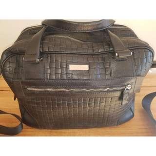 EMPORIO ARMANI overnight/laptop bag - genuine!
