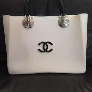 Chanel Rubber Tote Handbag (Replica)