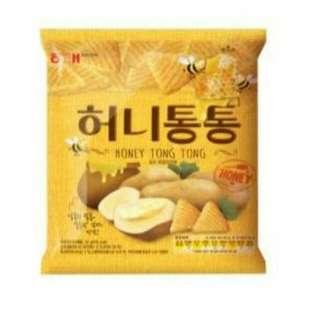 韓國零食 蜂蜜咚咚餅
