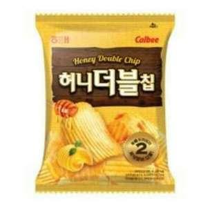 韓國零食 厚切蜂蜜奶油洋芋片