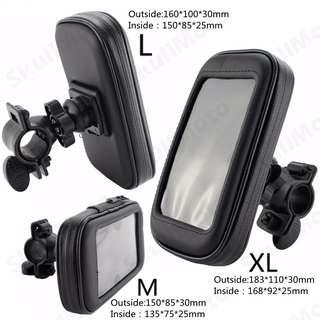 Waterproof Motorcycle Bike Bicycle Handlebar Mount Cellphone Holder