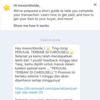 Recommended seller