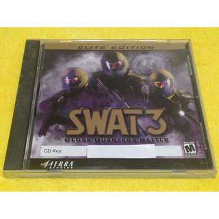 🚚 正版 迅雷先鋒3:就地正法 SWAT 3: Close Quarters Battle