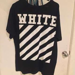 OFF WHITE ORIGINAL TEE L **REPLICA**