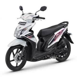 Honda Beat Putih Th 2013