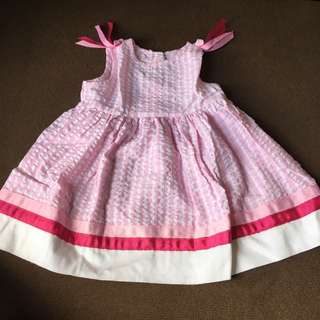 Pink Dress For 12 Months Old
