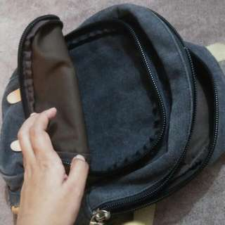 Bag With Convertable Straps