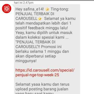 ThankYou Carousell..untuk Yg Ke 2 X ...