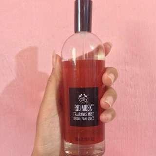 The Body Shop Original Riject Body Mist The Body Shop Red musk 100 ml