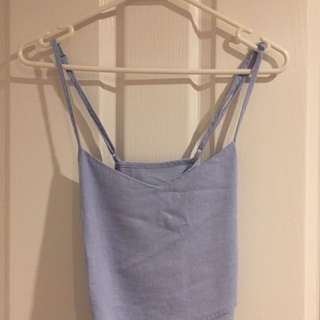 Glassons Blue Singlet