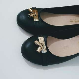 [Repriced!] Black Leather Shoes