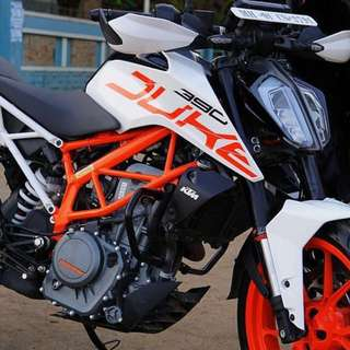 KTM Duke 125/390 Leg Guard Set