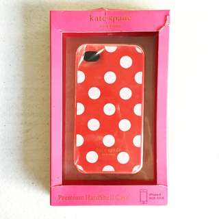 Iphone 4/4s Kate Spade Hard Case Red