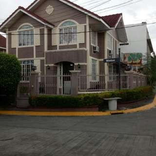Corner Lot House And Lot For Sale