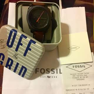 Brand new and Authentic Fossil Men's Watch (FS5234)