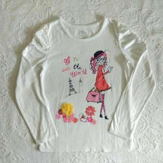 Place Tee Size 7-8y