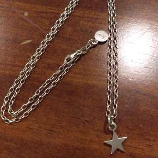 Karen Walker star necklace