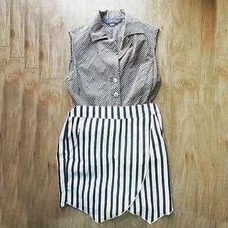 Stripes Outfit SET