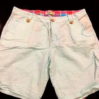 ROXY linen shorts