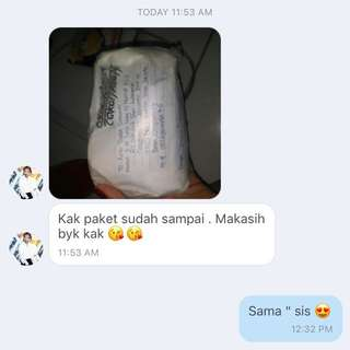 Testimoni From Lovely Customer 💕
