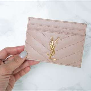 LOOKING FOR YSL CARDHOLDER