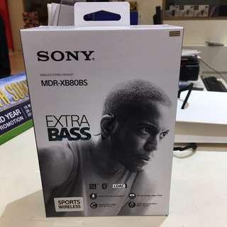 BNIB Sony MDR-XB80BS