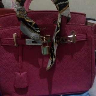 Tas Hermes Pink