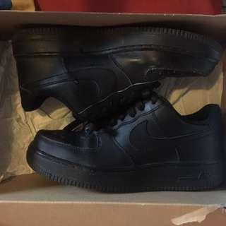 Air Force 1s (Black)