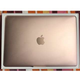 99% new Early 2016 12-inch RetinaMacBook (Rose Gold)