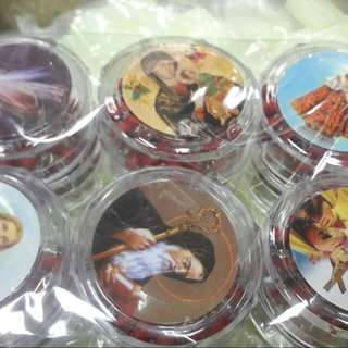 Scented Rosary with clear case 12 pcs