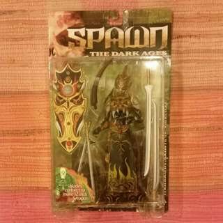 SUPER RARE - Spawn - Mandarin Spawn Series 14 Dark Ages Black Variant Mcfarlane Mint - Extremely Rare - Not Neca Hot Toys