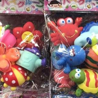 啾啾洗澡玩具 $120/款