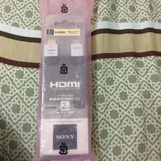 Brand New Sony High Speed 3D Hdmi Cable