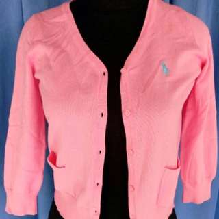 Polo Cardigan authentic like new