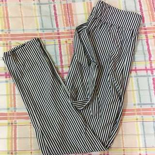 [INCL POST] STRIPES TROUSERS